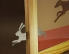 Hase und Windhund - Bild-